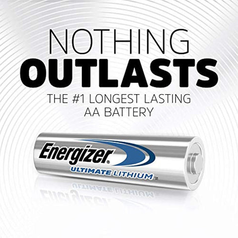 Energizer AA Ultimate Lithium Batteries - Commercial Packaging - Wholesale Home Improvement Products