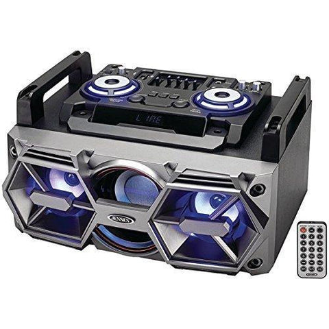 Jensen(R) SMPS-750 Portable Bluetooth(R) All-in-One Hi-Fi Music System with PA - Wholesale Home Improvement Products