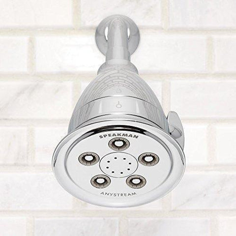 Speakman - S-2005-HBF Hotel Pure Any stream High Pressure Adjustable Filtered Shower Head - Polished Chrome - Wholesale Home Improvement Products