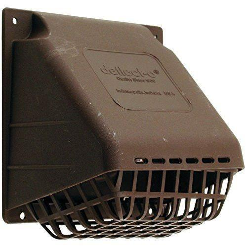 Deflecto - HR4B Replacement Vent Hood, Brown - Wholesale Home Improvement Products