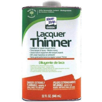 Klean-Strip Green Lacquer Thinner, 1-Quart - Wholesale Home Improvement Products