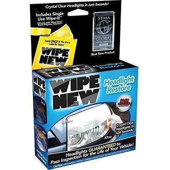 Wipe New - HDL6PCMTRRT Headlight Restore Kit - Wholesale Home Improvement Products