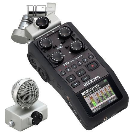 Zoom H6 Six-Track Portable Recorder with Zoom APH-6 Accessory Pack for H6 - Wholesale Home Improvement Products