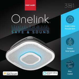 BRK First Alert - Onelink Safe & Sound - Smart Hardwired Smoke & Carbon Monoxide Alarm - Wholesale Home Improvement Products