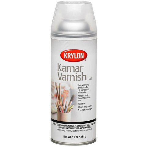 Krylon K01312 11-Ounce Kamar Varnish Aerosol Spray - Wholesale Home Improvement Products