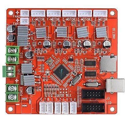 Anet A1284-Base Motherboard DIY Self Assembly 3D Desktop Printer RepRap i3 Kit - Wholesale Home Improvement Products