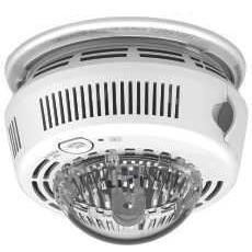 BRK First Alert - 7010BSL Photoelectric Smoke Alarm With Integrated Strobe Light 120v