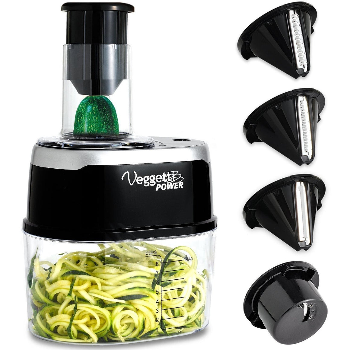OnTel - Veggetti Power 4-in-1 Electric Spiralizer - Wholesale Home Improvement Products