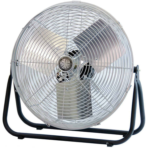 "TPI Corporation F18TE Industrial Workstation Floor Fan, Single Phase, 18"" Diameter, 120 Volt - Wholesale Home Improvement Products"