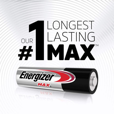Energizer AAA MAX® Alkaline Batteries - Commercial Packaging - Wholesale Home Improvement Products