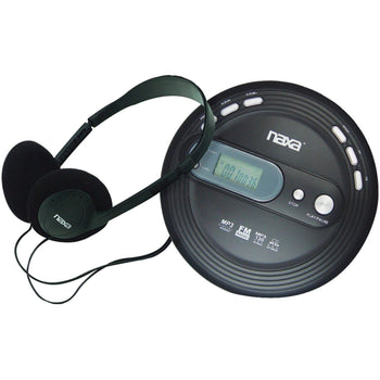 NAXA Electronics NPC-330 Slim Portable Cd and MP3 Player with FM Radio & Anti-Shock Technology - Wholesale Home Improvement Products