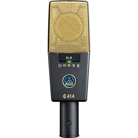 AKG Pro Audio C414 XLII Vocal Condenser Microphone, Multipattern