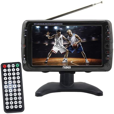 NR NAXA 7in Portable Tv (New Model) - Wholesale Home Improvement Products