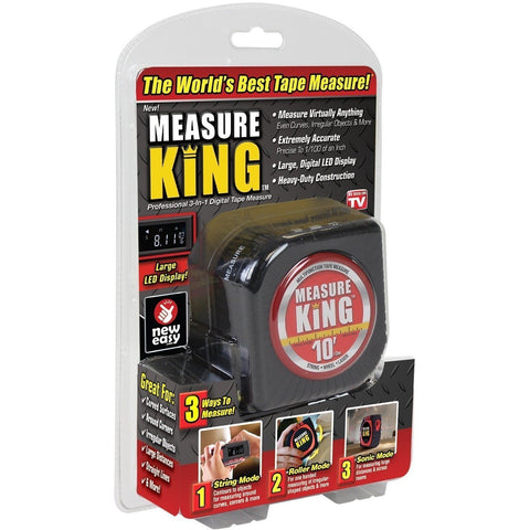 OnTel MK-MC12/4 Measure King - 3-in-1 Digital Tape Measure - Wholesale Home Improvement Products