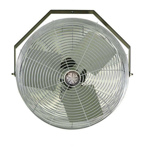 "TPI Workstation 24"" Fan 120 Volt 360 Degree, Vertical Swirl Air Circulator Venting Exhaust Fans U24-TE - Wholesale Home Improvement Products"