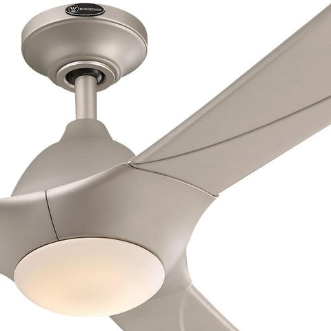 Westinghouse - Techno II 72-Inch Indoor DC Motor Ceiling Fan with Dimmable LED Light Kit