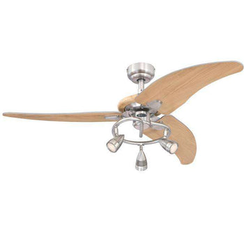 Westinghouse - Elite 48-Inch Indoor Ceiling Fan with Dimmable LED Light Fixture