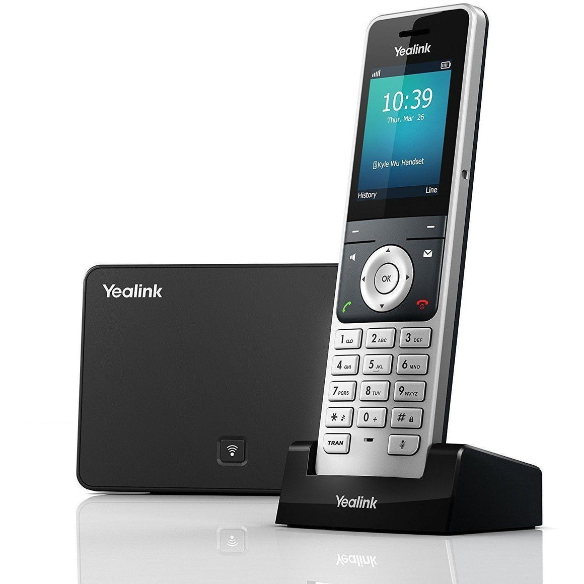 Yealink W56P Business HD IP Dect Cordless Voip Phone - Wholesale Home Improvement Products
