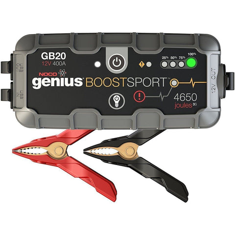 NOCO Genius Boost Sport GB20 400 Amp 12V UltraSafe Lithium Jump Starter - Wholesale Home Improvement Products