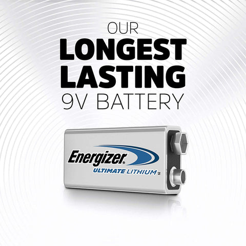 Energizer 9V Ultimate Lithium Batteries - Commercial Packaging - Wholesale Home Improvement Products