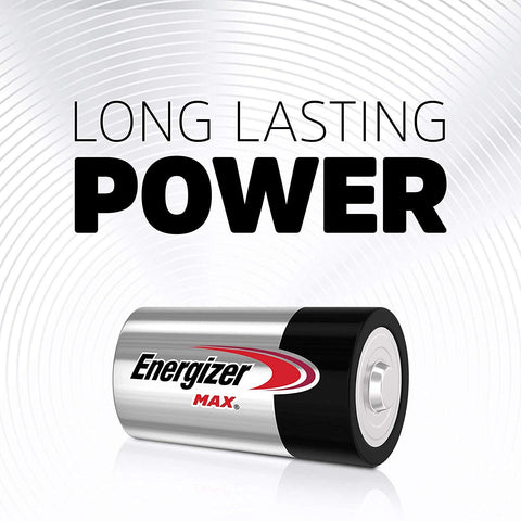 Energizer D MAX® Alkaline Batteries - 24 Pack - Commercial Packaging - Wholesale Home Improvement Products