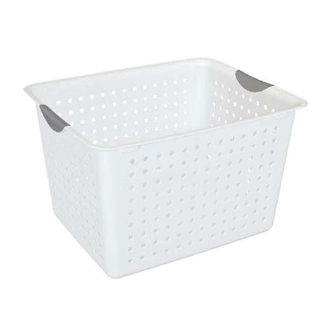 Sterilite 16288006 Deep Ultra Plastic Indoor Storage Organizer Baskets (6 Pack) - Wholesale Home Improvement Products