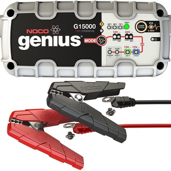 NOCO Genius G15000 12V/24V 15A Pro Series UltraSafe Smart Battery Charger - Wholesale Home Improvement Products