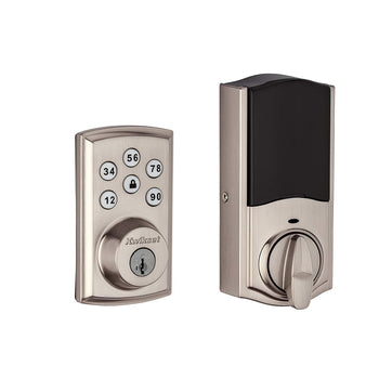 Kwikset SmartCode 888 Smart Lock Touchpad Electronic Deadbolt Door Lock w/ Z-Wave Plus, Satin Nickel 98880-004 - Wholesale Home Improvement Products