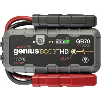 NOCO Genius Boost HD GB70 2000 Amp 12V UltraSafe Lithium Jump Starter - Wholesale Home Improvement Products
