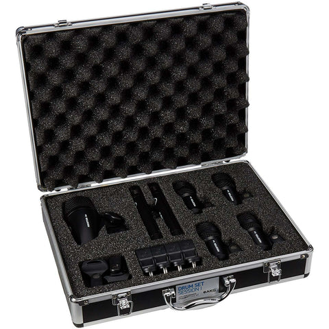 AKG Drum Set Session 1 High-Performance Drum Microphone Set - Wholesale Home Improvement Products