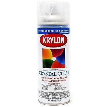 Krylon ColorMaster Gloss Crystal Clear Acrylic, 11 oz, K01301