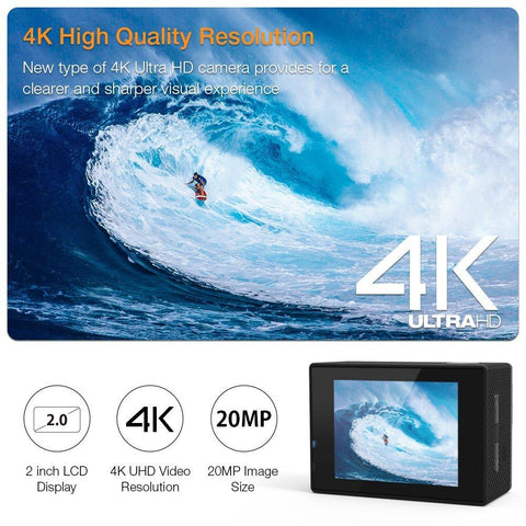 Apeman 4K Action Camera A80 - Wholesale Home Improvement Products