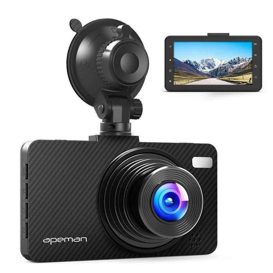 Apeman Dashboard Cam 1080P FHD DVR C450-Updated Version - Wholesale Home Improvement Products