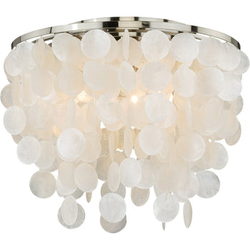 Vaxcel - C0079 - Elsa - Three Light Flush Mount