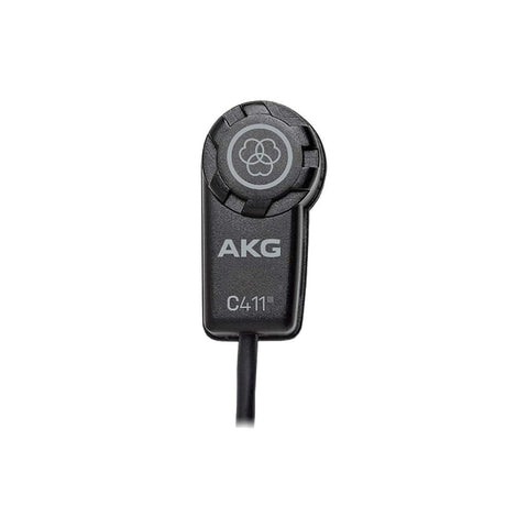 AKG C411 PP High-Performance Miniature Condenser Vibration Pickup with MPAV Standard XLR Connector