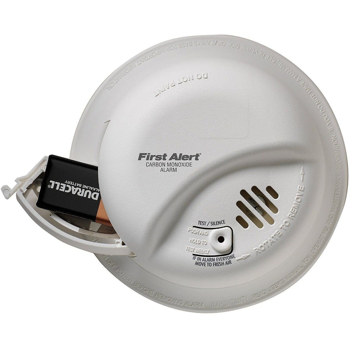 BRK First Alert - CO5120BN Hardwire Carbon Monoxide Alarm with Battery Backup - Wholesale Home Improvement Products
