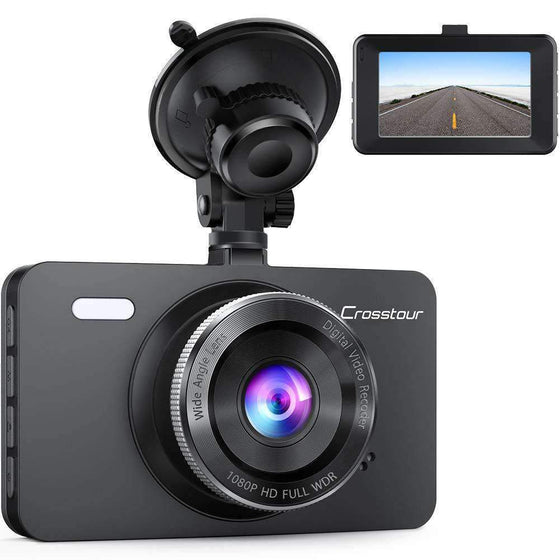 "Crosstour DVR Dash Cam Full 1080P  HD with 3"" LCD Screen CR300 - Wholesale Home Improvement Products"