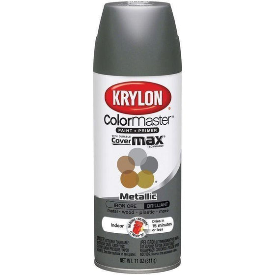 Krylon ColorMaster Metallic Iron Ore, 11 oz, K05359202 - Wholesale Home Improvement Products