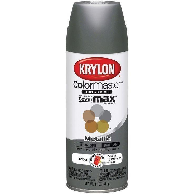 Krylon ColorMaster Metallic Iron Ore, 11 oz, K05359202