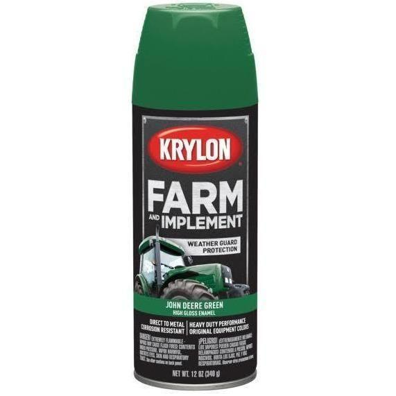 Krylon® Farm and Implement John Deere Green High Gloss Spray Paint, 12oz K01932000