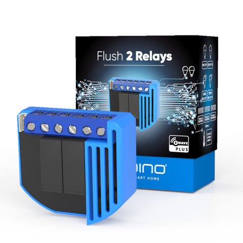 Qubino Z-Wave Flush 2 Relays - ZMNHBD3
