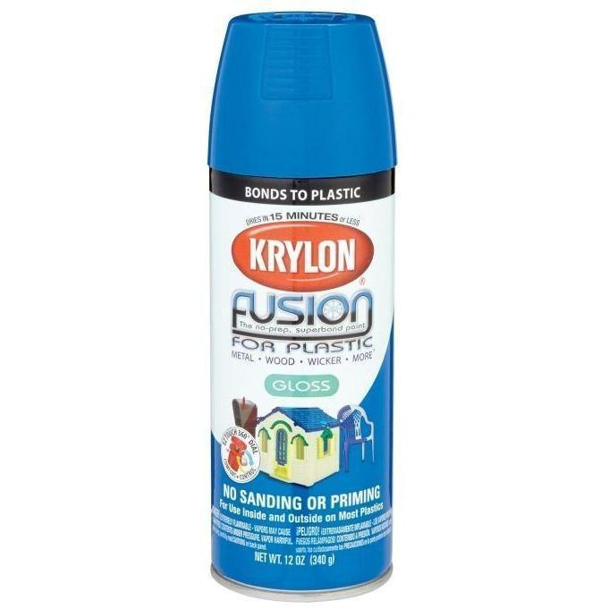 Krylon® Fusion For Plastic® Gloss Patriotic Blue Spray Paint, 12oz K02329007