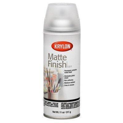 Krylon Aerosol Matte Satin Finish Spray Enamel 11oz, K01311007 - Wholesale Home Improvement Products