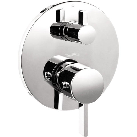 Hansgrohe 04231000 S Thermostatic Trim With Volume Control And Diverter, Chrome - Wholesale Home Improvement Products