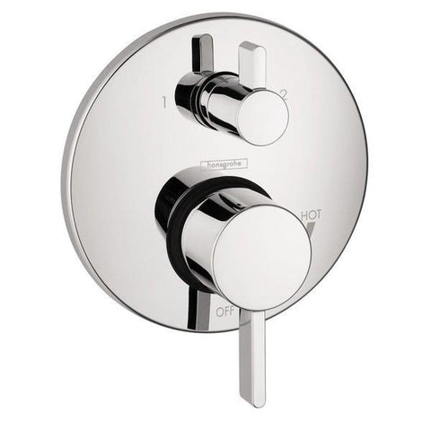 Hansgrohe Raindance Shower Faucet Kit with Handshower Wallbar PBV Trim with Diverter and Rough-In, Chrome - Wholesale Home Improvement Products