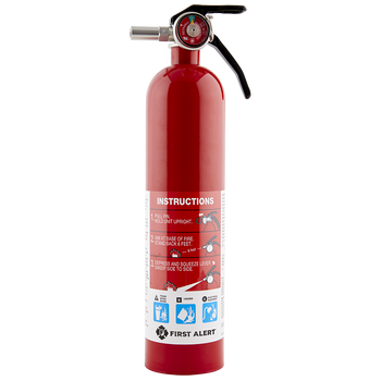 First Alert Fire Extinguisher Standard Home Fire Extinguisher, Red, 4 Pack - Wholesale Home Improvement Products