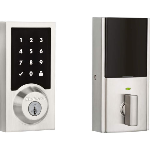 Kwikset Contemporary Premis Touchscreen Smart Deadbolt Door Lock - Wholesale Home Improvement Products