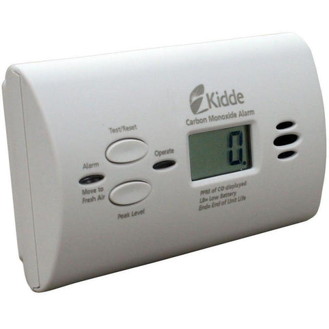 Kidde KN-COPP-B-LPM Carbon Monoxide Detector, Battery Powered Peak Level Memory w/Digital Display (21008873) - Wholesale Home Improvement Products