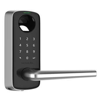 Ultraloq - Bluetooth Enabled Fingerprint and Touchscreen Smart Lever Lock