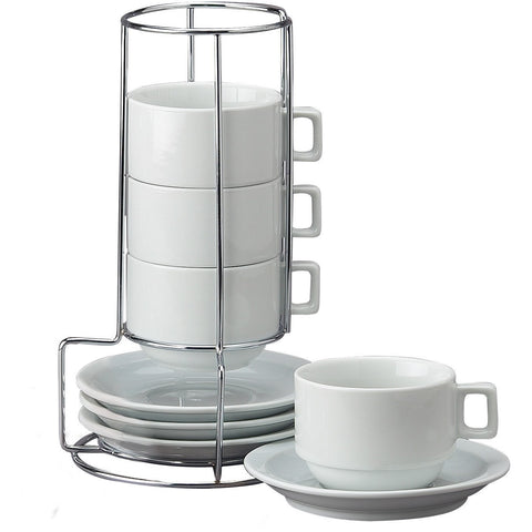 Coffee Cup and Saucer set, Set of 4 - Wholesale Home Improvement Products